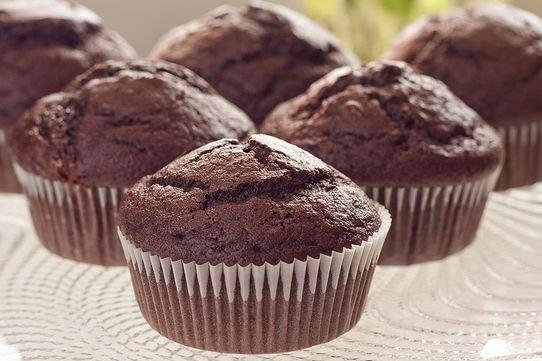 magdalenas de chocolate receta
