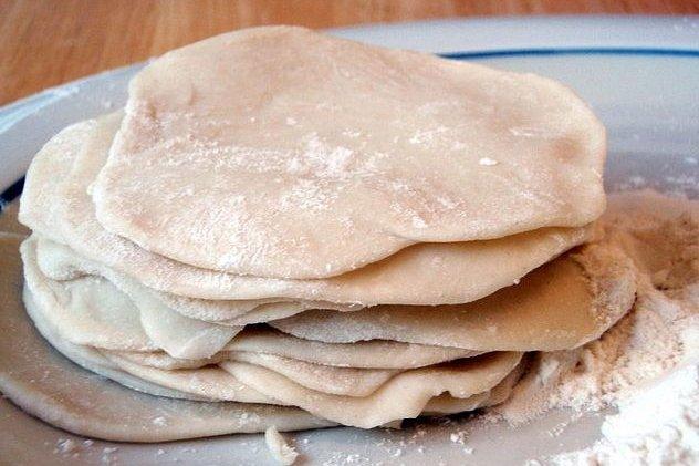 Receta de masa para empanadillas
