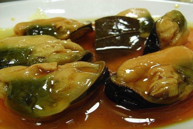 Receta de mejillones en salsa