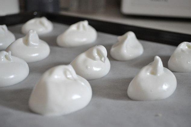 Receta de merengue suizo