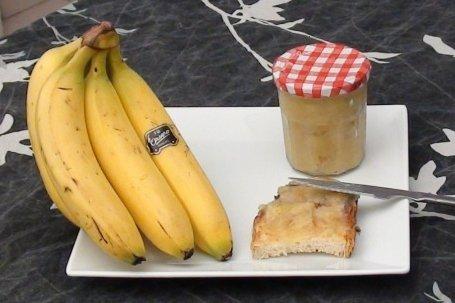 Receta de mermelada de plátano