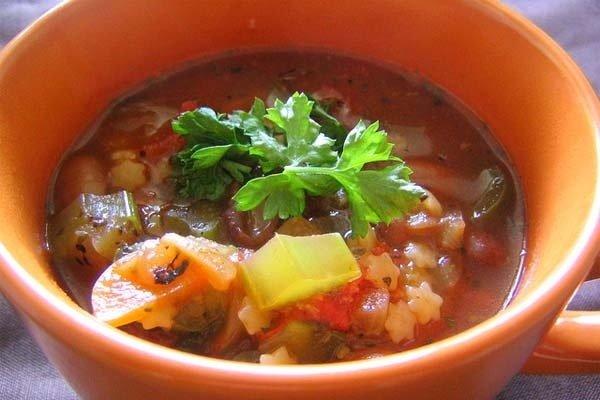 Receta de minestrone