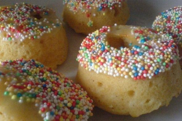 Receta de mini donuts