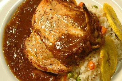 Receta de mole con pollo