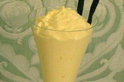 Receta de mousse de crema pastelera