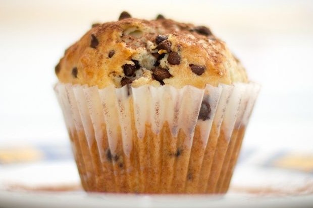 Receta de muffins con pepitas de chocolate