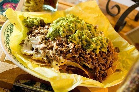 Receta de nachos con carne molida