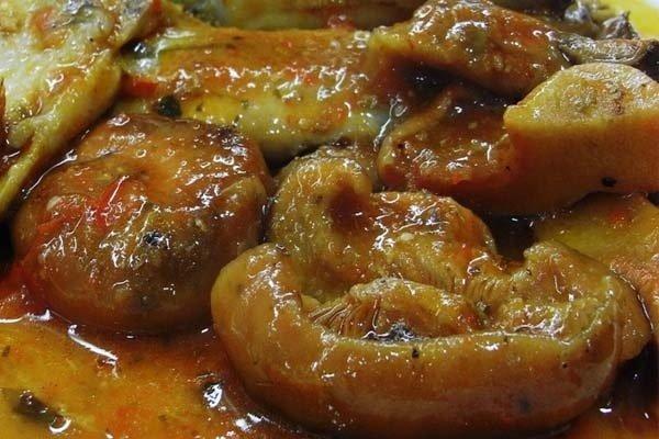 Receta de níscalos en salsa
