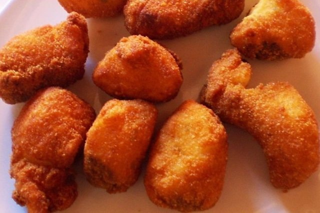 Receta de nuggets