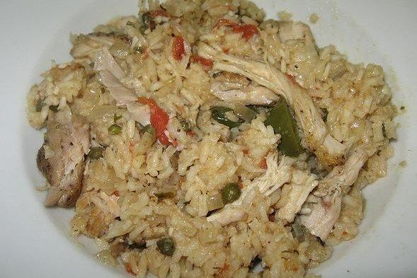 Receta de paella de pollo