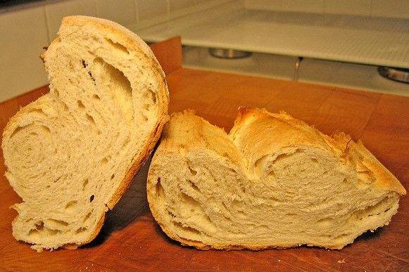 Receta de pan blanco