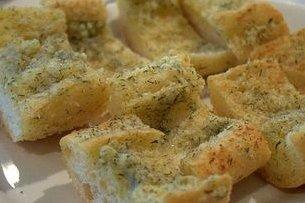 Receta de pan con ajo