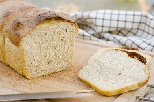 Receta de pan de molde hecho en casa