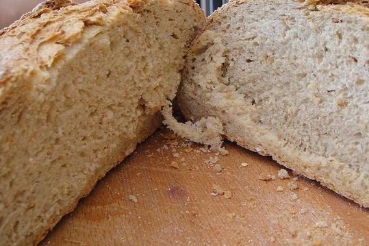 Receta de pan de salvado de avena