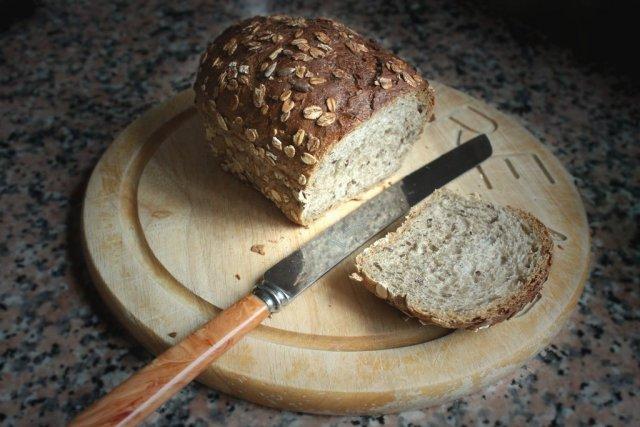 Receta de pan de semillas