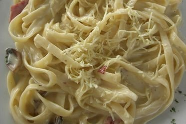 Receta de pasta alfredo