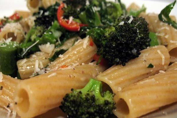 Receta de pasta con brócoli