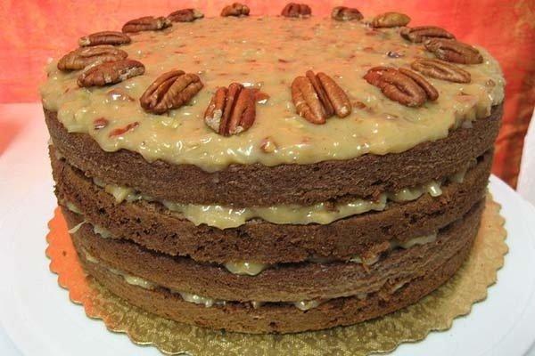 Receta de pastel alemán