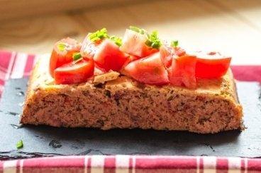 Receta de pastel de atún fresco