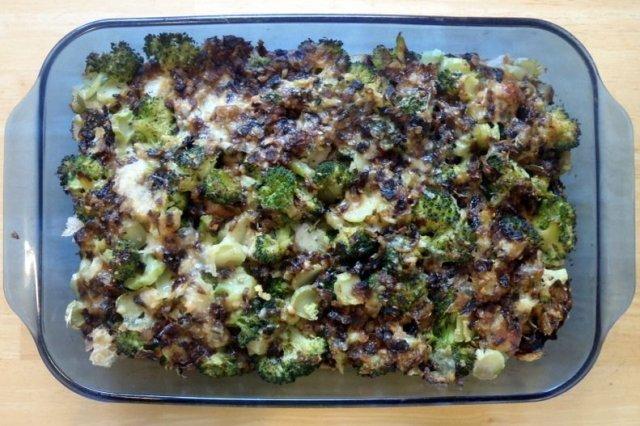 Receta de pastel de brócoli