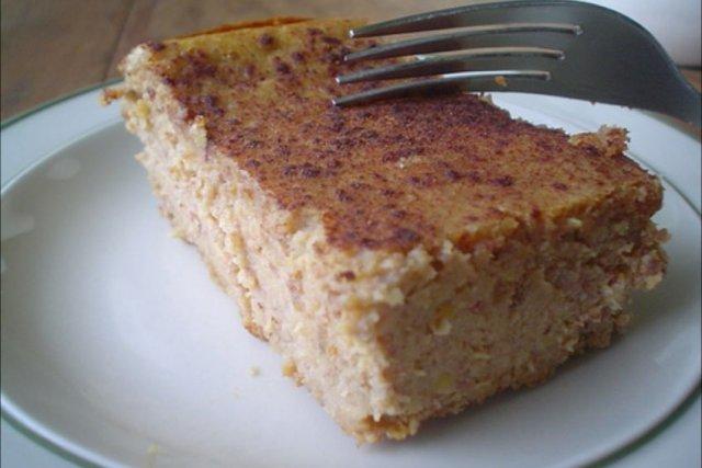 Receta de pastel de elote (maíz)