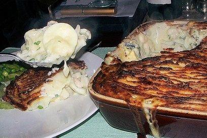 Receta de pastel de pescado al horno
