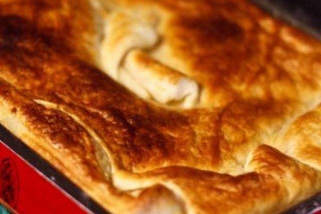 Receta de pastel de pollo y champiñones