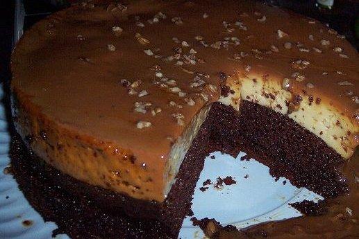 Receta de pastel imposible