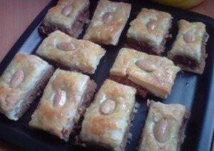 Receta de pasteles árabes