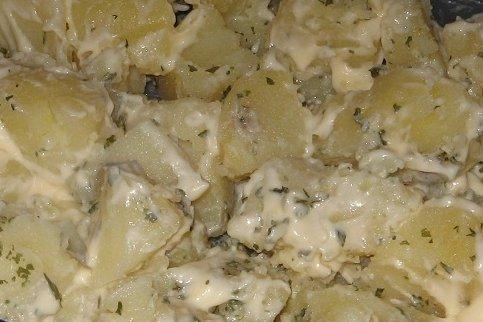 Receta de patatas alioli