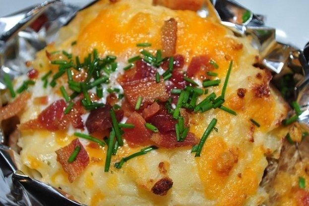 Receta de patatas asadas