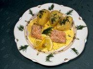 Receta de patatas con pescado