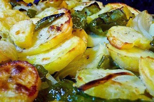 Receta de patatas panaderas