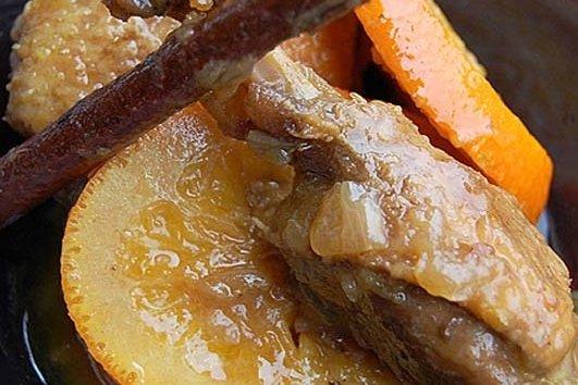 Receta de pato con naranja