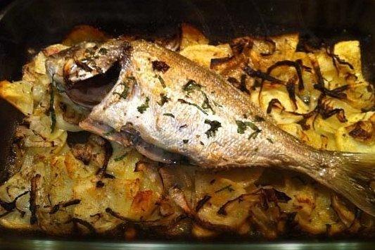 Receta de pescado blanco al horno