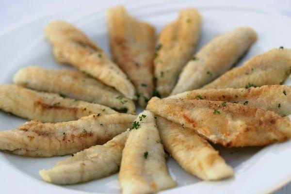 Receta de pescado frito
