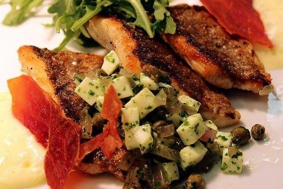 Receta de pescado relleno al horno