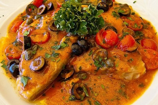 Receta de pez espada en salsa