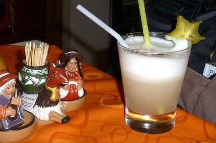 Receta de pisco peruano