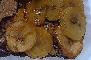 Receta de plátano asado