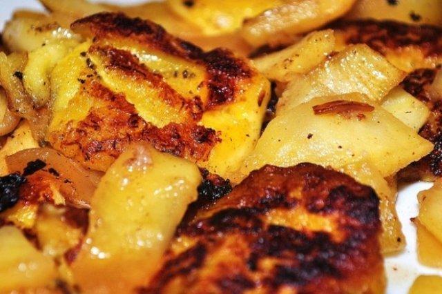 Receta de plátanos fritos