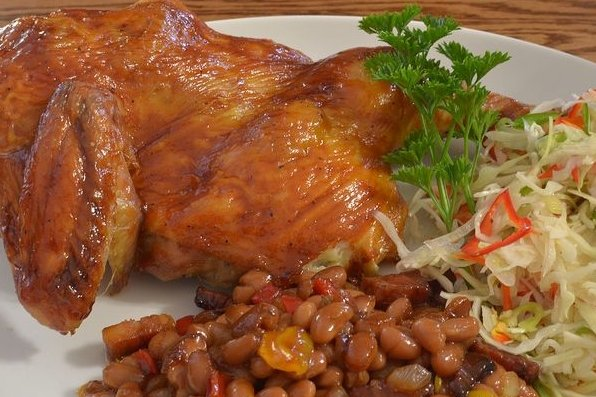 Receta de pollo al horno a la naranja