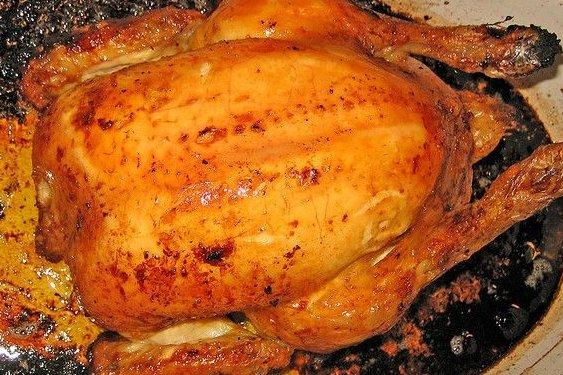 Receta de pollo asado al limón