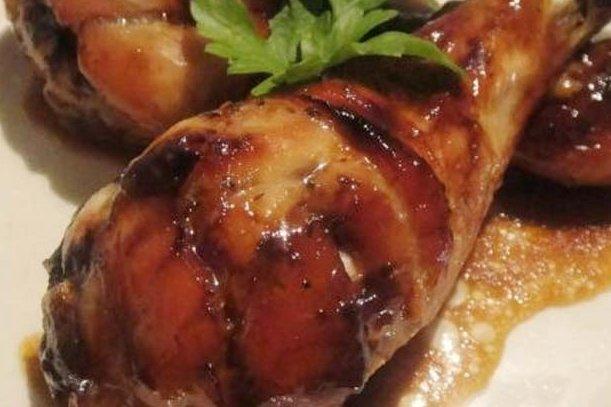Receta de pollo caramelizado