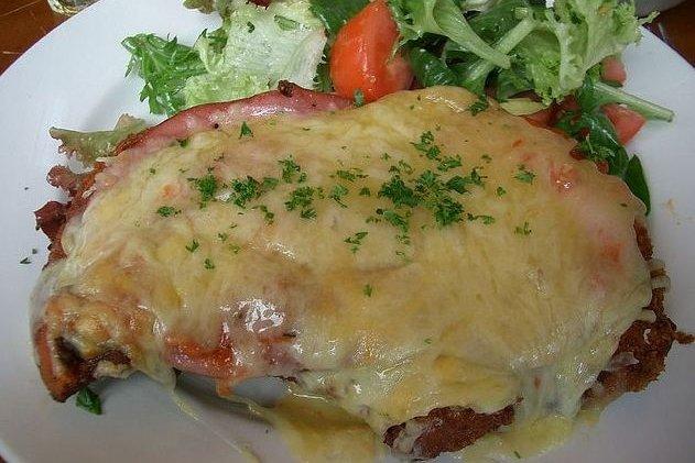Receta de pollo con bechamel