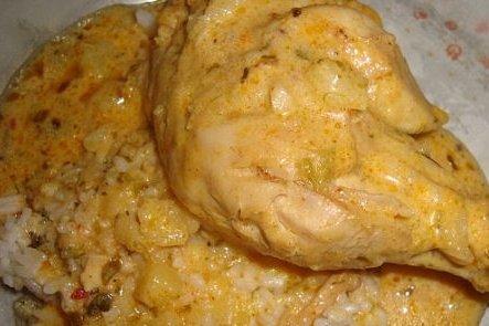 Receta de pollo con mole