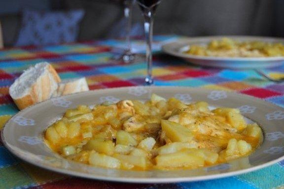 Receta de pollo con salsa de naranja