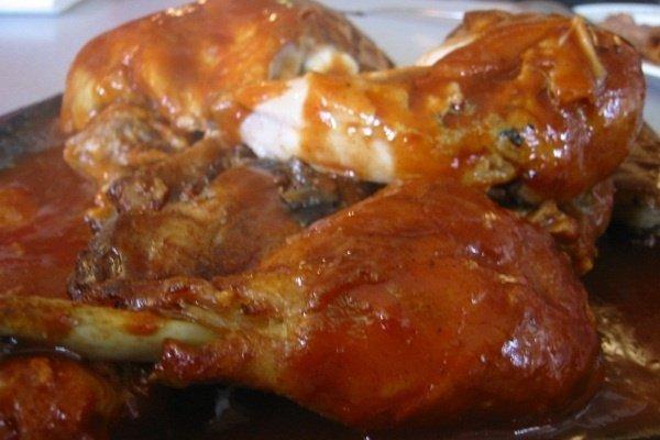 Receta de pollo con salsa