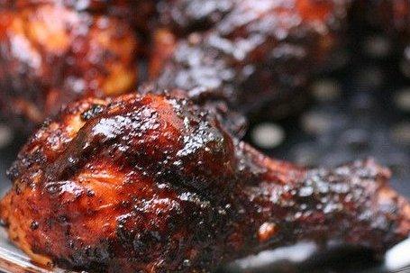 Receta de pollo en barbacoa
