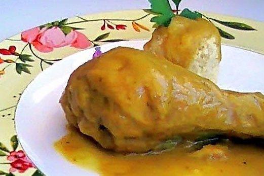 Receta de pollo en salsa de zanahoria